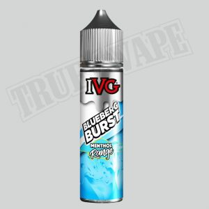 Blueberg Burst shortfill e-liquid by IVG Menthol is a berry fruit blend with a cooling effect. The juicy blueberry flavour is consistent throughout with an icy mint kick to finish for a distinct vape.buy now@true-vape.com