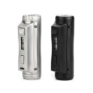 Ehpro cold steel 100 mod-single battery 120w mod-uses either 21700,20700 or 18650 batteries.ergonmic and a powerful box mod