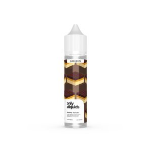 only eliquids-shortcake-caramel with a mellow milk chocolate layer on a shortbread