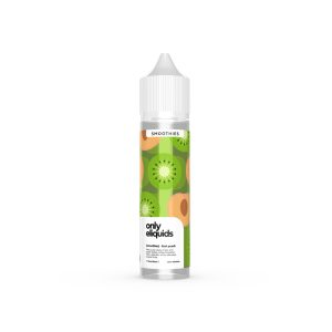 only eliquids-kiwi peach-kiwi and peach halves, blitzed together with a selection of the sweetest, tropical fruits