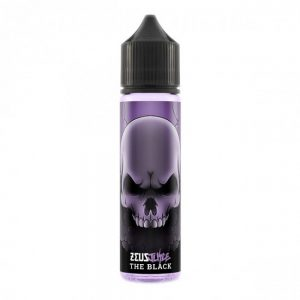The Black eliquid by Zeus Juice is a combination of dark berry flavours which includes a cooling aftertaste, perfect for vapers who're after an alternative to heavy dessert flavours. A rich blackberry and blueberry combine on inhale, balanced out by a menthol exhale.