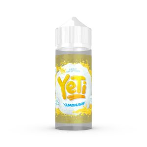 Lemonade by Yeti eLiquid | 100ml Shortfill - The best way to enjoy a sharp and refreshing lemonade is ice cold of course, Yeti eliquids are serving up this citrus vape juice sweet, fizzy and frozen, just like it should be!