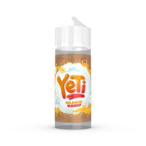 Orange Mango by Yeti eLiquid | 100ml Shortfill - An ice cold taste of tropical fruit, Yeti eliquids have given the frosty touch to sharp oranges and smooth mango in a delicious juice combo