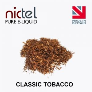 nictel tobacco classicA standard Tobacco flavour that will help with those initial cravings.