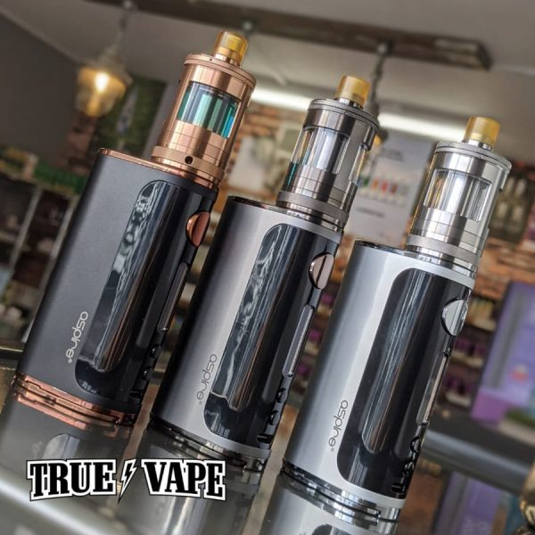 aspire nautilus gt kit-available@true-vape.comThe Aspire Nautilus GT vape kit combines the Aspire Glint vape device and the 2ml Nautilus GT tank. Compatible with a single 18650 vape battery (sold separately) this kit can be used for mouth to lung or sub ohm vaping and is capable of a 75W max output. The 2ml GT tank includes handy features like top filling and adjustable airflow.