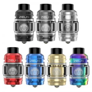 The Geekvape Zeus is a sub ohm vape tank version of the acclaimed Zeus RTA X tank. This 22mm innovative vape tank features a 2ml e-liquid capacity and has been designed to create large cloud production coupled with rich flavour. available@true-vape.com