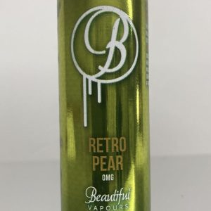 beautiful vapours retro pear is a delightful mix of juicy Comice, Conference and Anjou Pears-sublime.available@true-vape.com