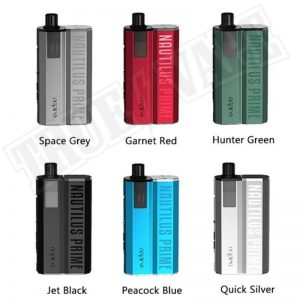The Aspire Nautilus Prime pod vape kit is a sleek and versatile pod kit recommended for vapers of all experience levels. Powered by a 2000mAh built-in battery, this lightweight yet high performance pod kit boasts a 60W max out as well as a range of output modes including Variable Wattage, Variable Voltage and Bypass Mode.buy now@true-vape.com