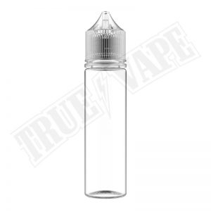 Gorilla Chubby Clear Unicorn 60ml Bottles are specially designed for shortfill and DIY Lovers.buy now@true-vape.com