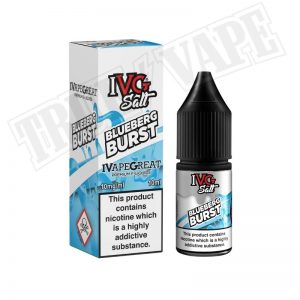 Ivg Salts-Blueberg 10mg.buy now at true-vape.com