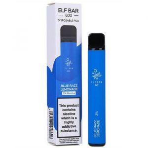 Blue Razz Lemonade.Elf Bar Disposable.buy now at true-vape.com